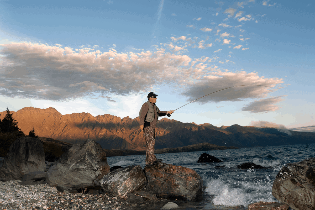 Composite Developments fly fishing rod technology from New Zealand