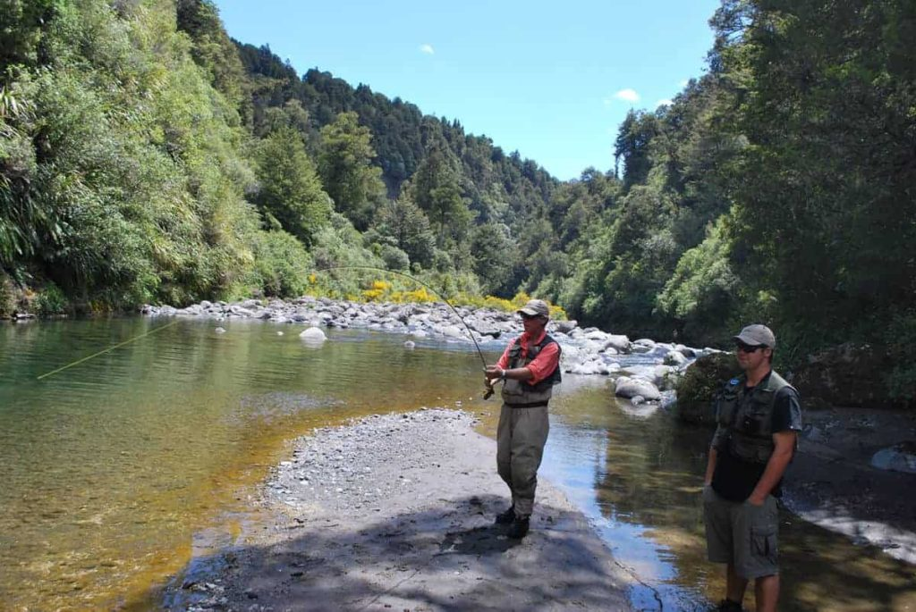 Fishing in New Zealand