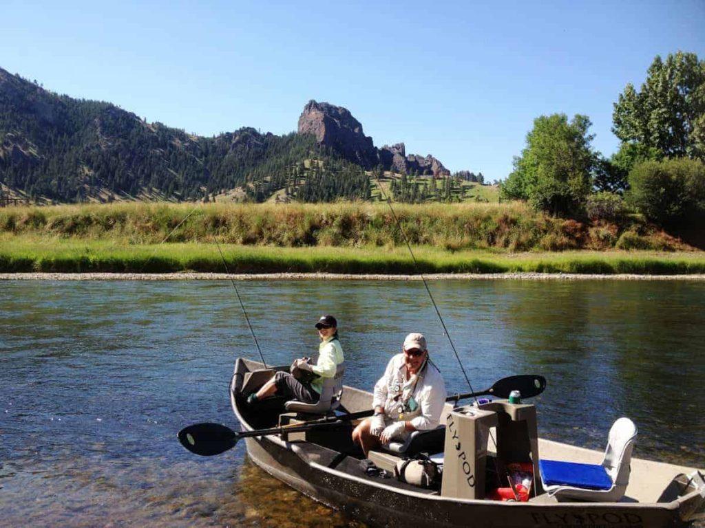 U.S.A. fly fishing trip July 2013