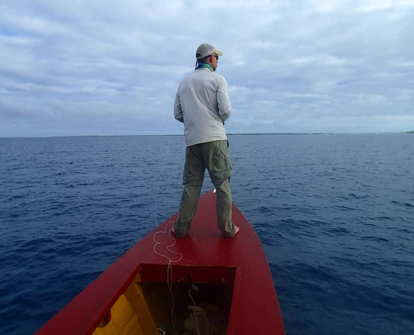 Dave Cook Christmas Island Fly Fishing Guide