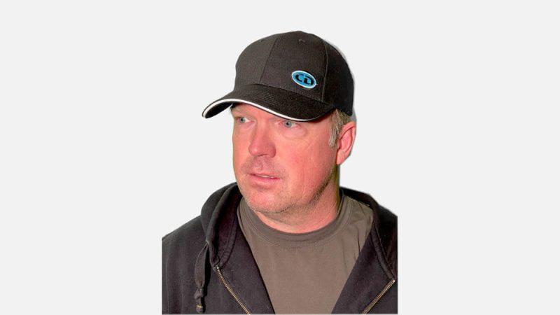 CD Fishing Hat Black
